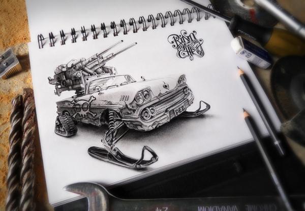 Sketchbook Art by Pez1