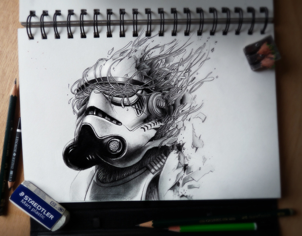 Sketchbook Art by Pez14