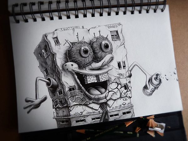Sketchbook Art by Pez15