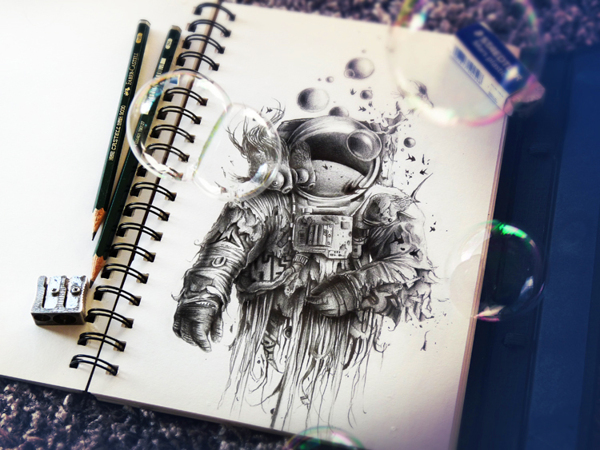 Sketchbook Art by Pez17