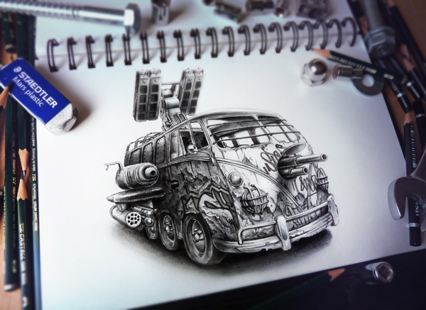 Sketchbook Art by Pez18