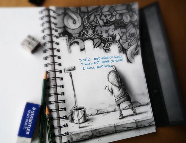 Sketchbook Art by Pez2