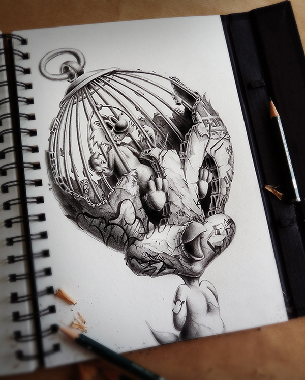 Sketchbook Art by Pez3