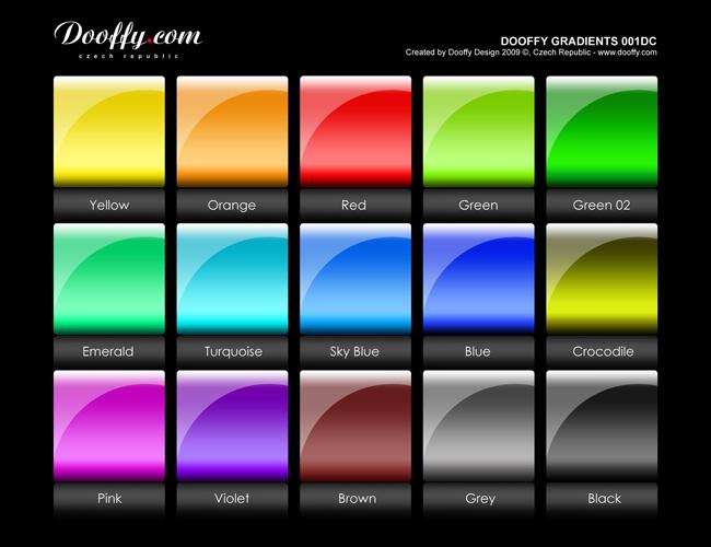 Dooffy gradients set