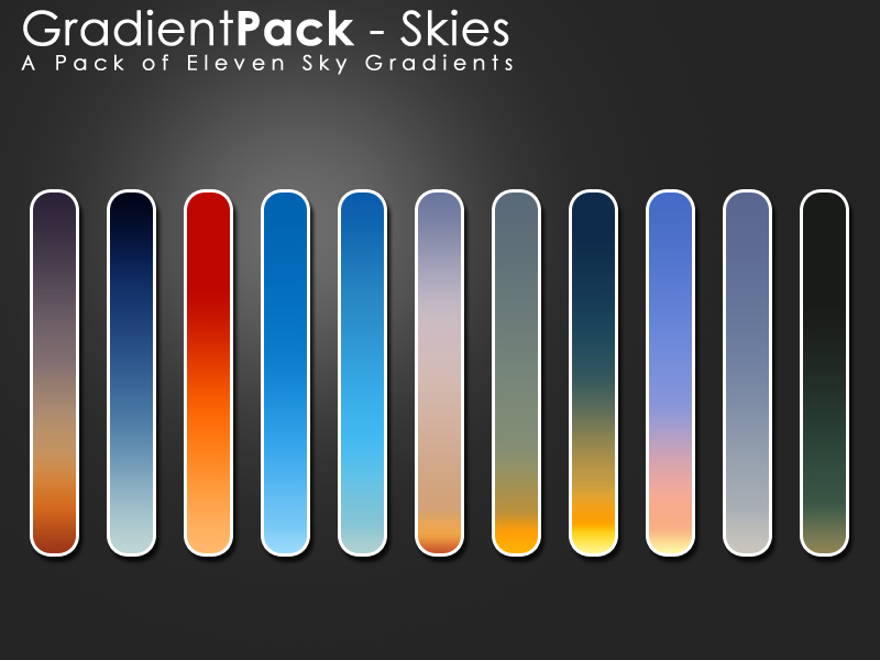 GradientPack-Skies