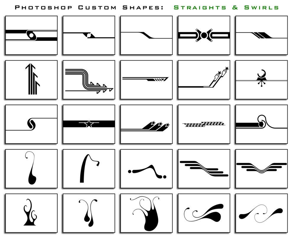 Straights and Swirls