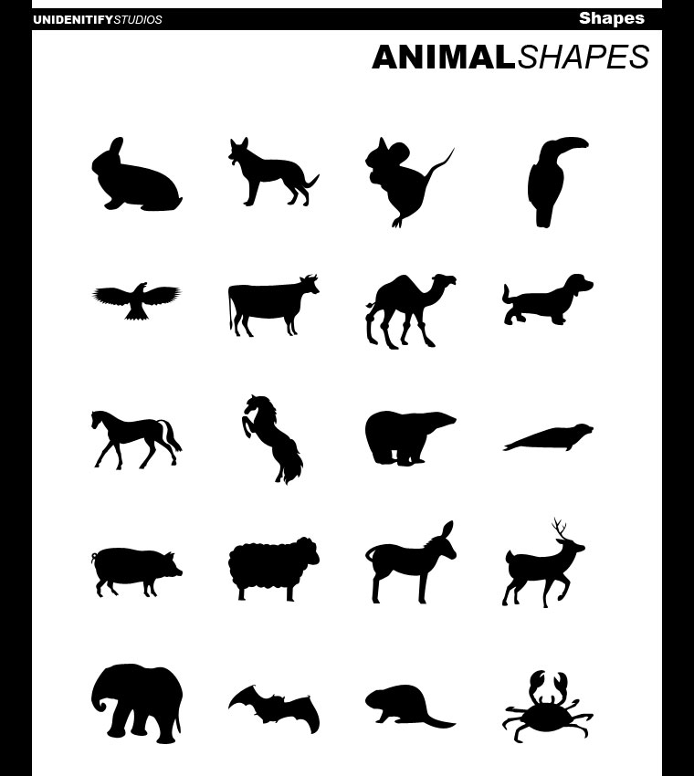 animal shapes-min