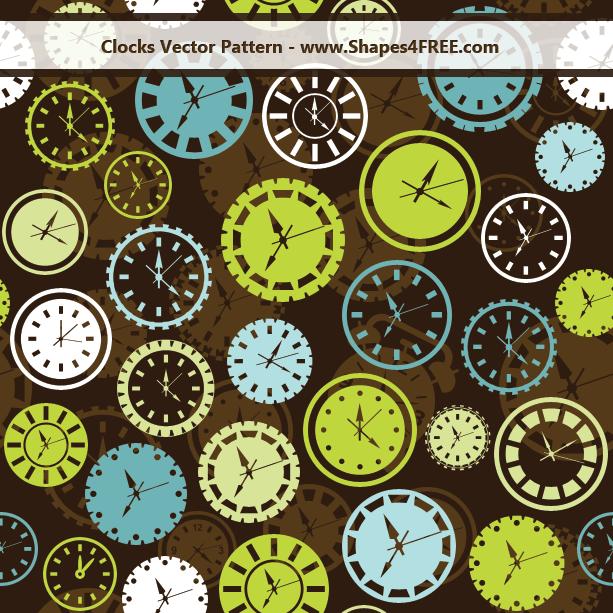 clocks-vector-pattern-lg1