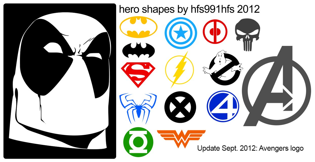 hero shapes