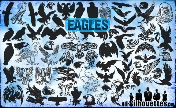 vector-eagles-clipart1