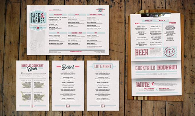 Beautiful restaurant menu designs inspirationfeed