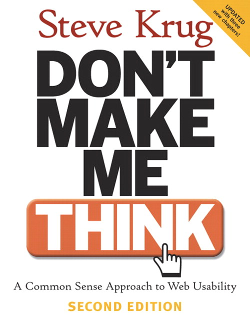 Don't Make Me Think 2nd Edition
