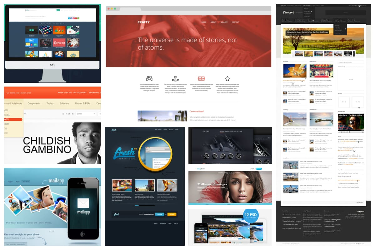 30 Free Quality Website Psd Templates Inspirationfeed