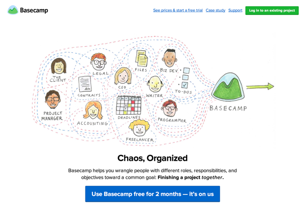 Basecamp is everyone's favorite project management app. (20150418)