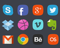 Social-Media-Icon-Sets