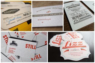 Vintage Business Card Design Inspiration Ideas