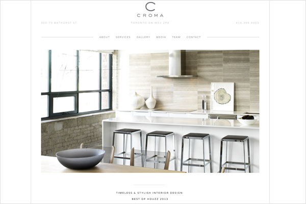 33 clean minimalist and simple interior design websites for Interior decorating websites