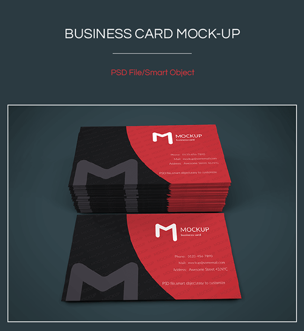 Business Cards Mockup by Graph Berry