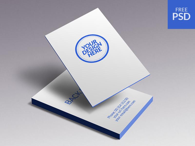 Business Cards Mockup by José Polanco
