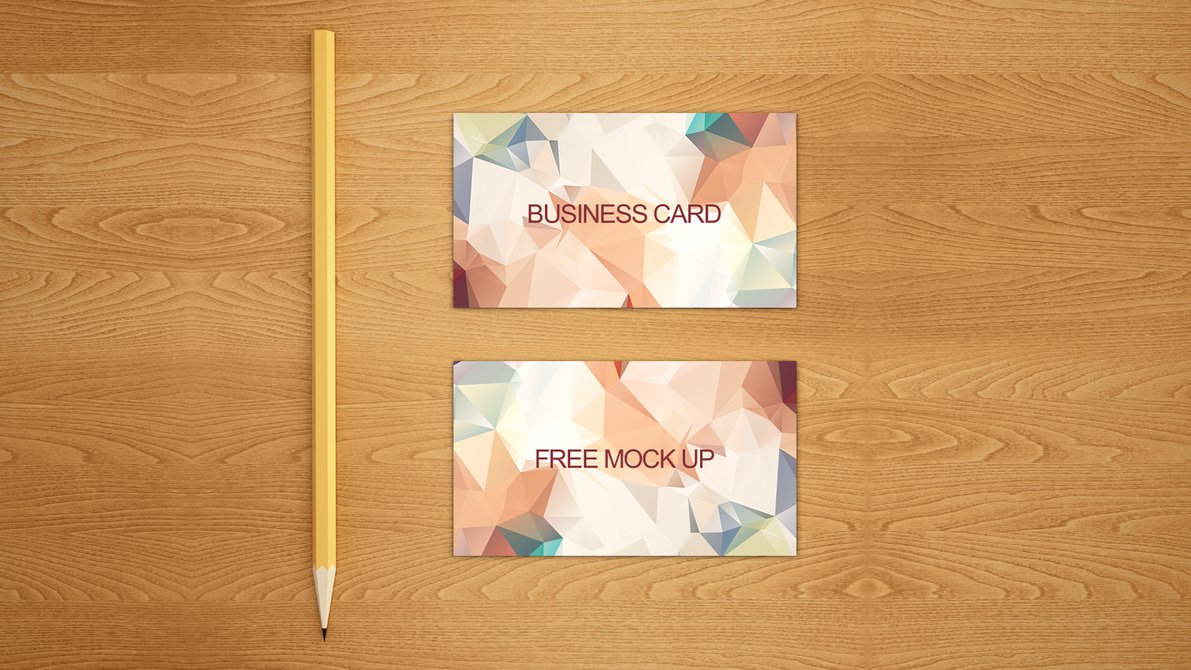 25 Free Business Card Mockups for Pitching Your Work ...