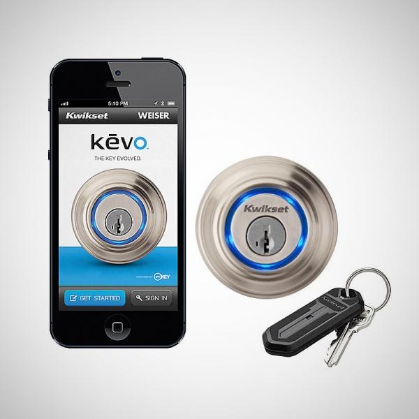 Kevo Single Cylinder Bluetooth Enabled Deadbolt