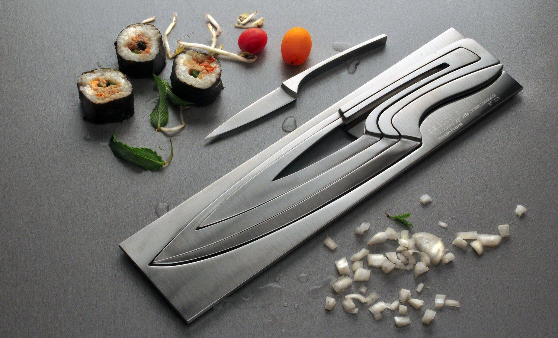 Deglon Metal Knife Set