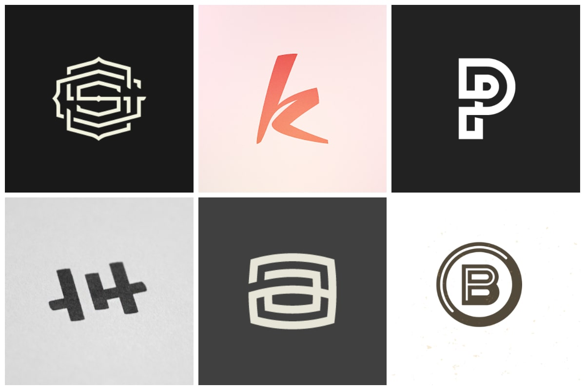 40 Lovely Monogram Logo Designs Inspirationfeed