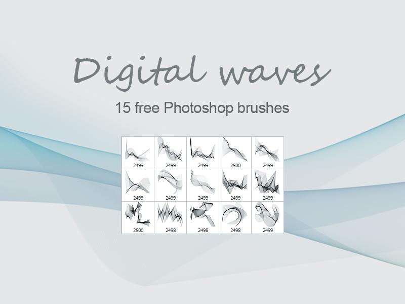 15 Digital Waves