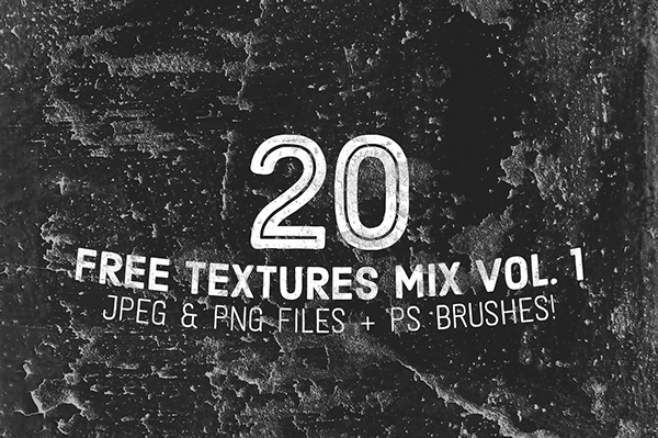 20 Free Textures Mix Vol. 1