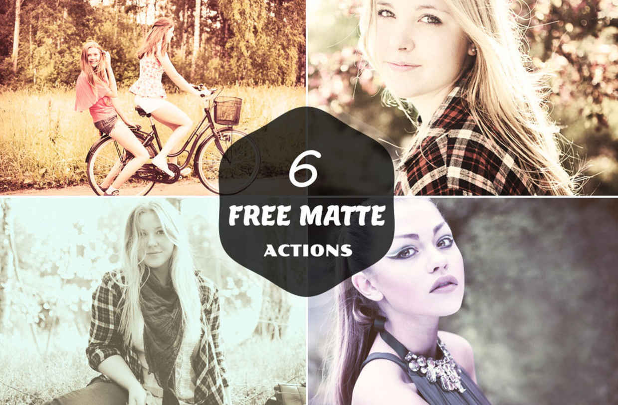6 free matte actions