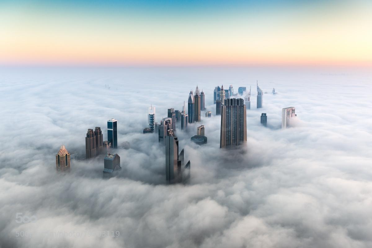Dubai Skyline by Bjoern Lauen.