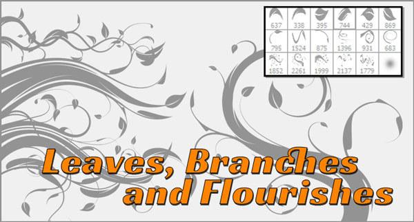 Flourish, Leaves and Vines
