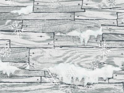 Hand Drawn Snowflakes by Dan Lehman