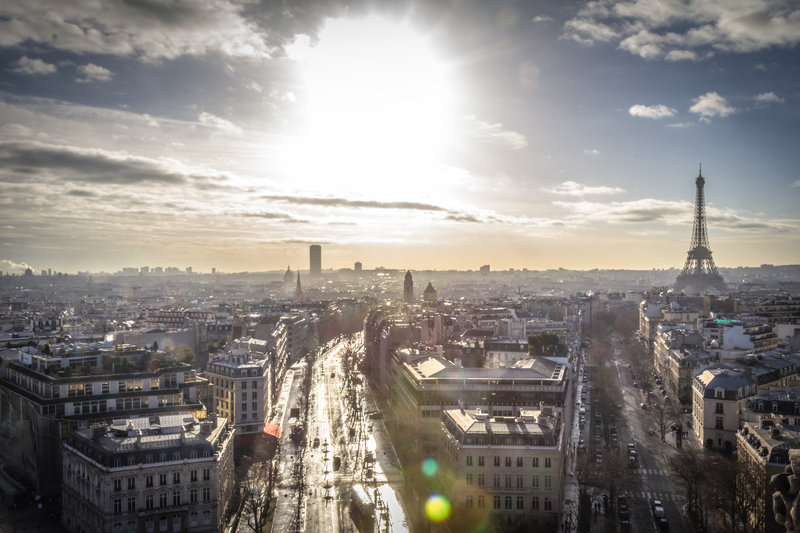 Paris Skyline by Rob Potvin