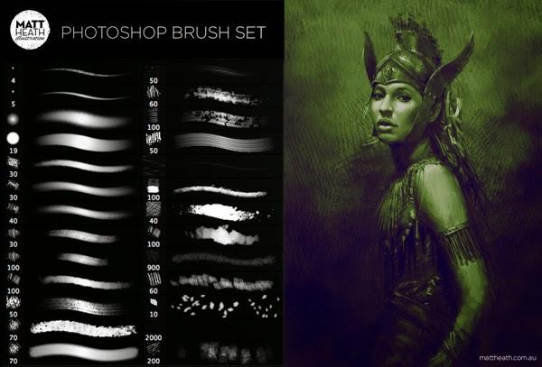 Photoshop Brushes by Matt Heath
