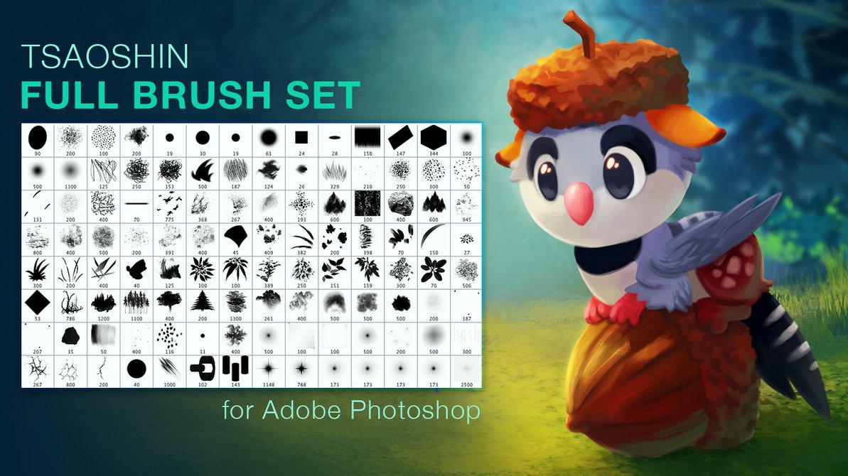 TsaoShin Full Brushes Set
