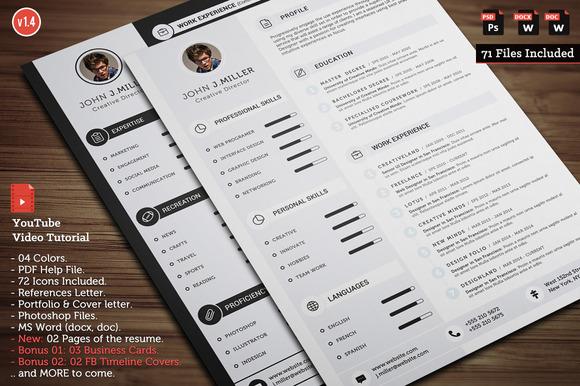 clean-cv-resume