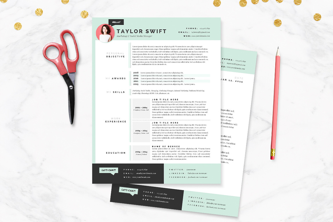 mint-resume-cover-letter-template