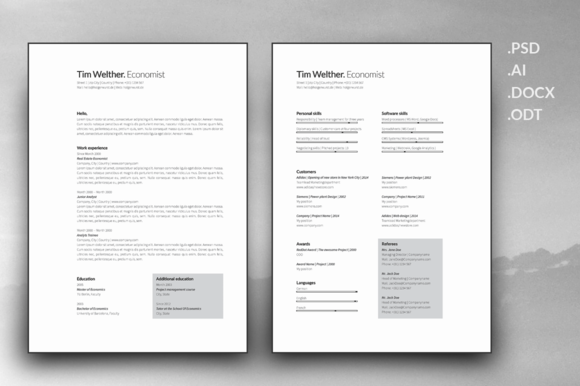 resume-and-cover-letter-template