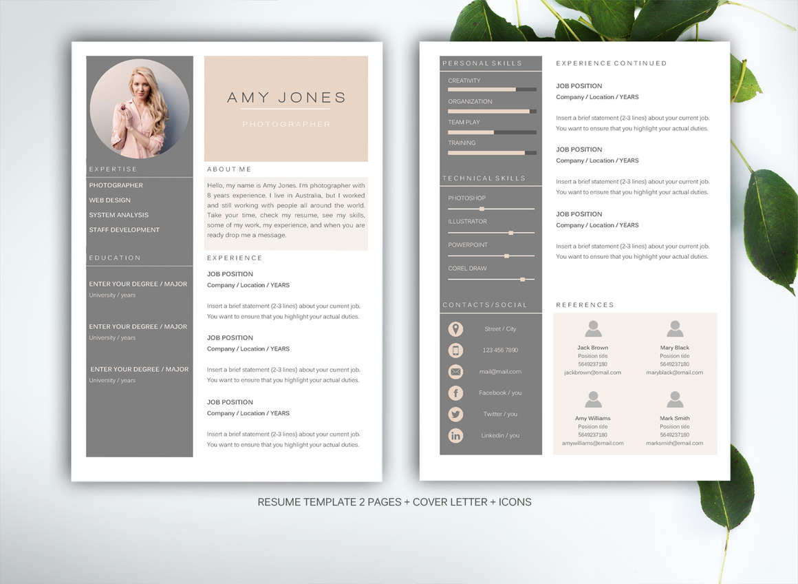 resume template for ms word1