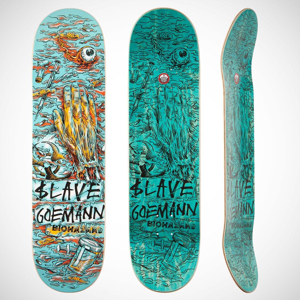 40 creative skateboard deck designs inspirationfeed - Skateboard dessin ...