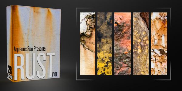 28 More Rust Textures