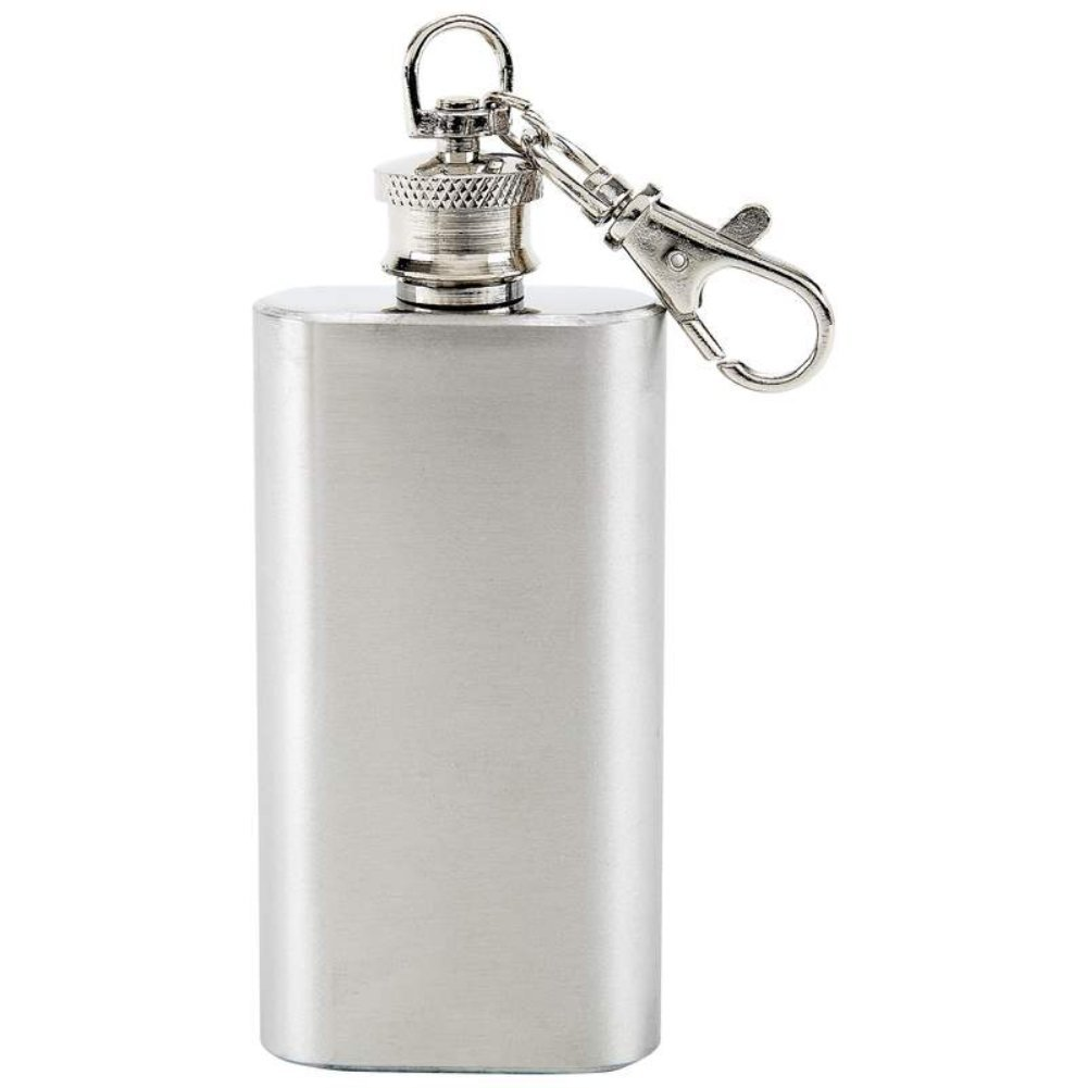 2oz Stainless Steel Key Chain Flask