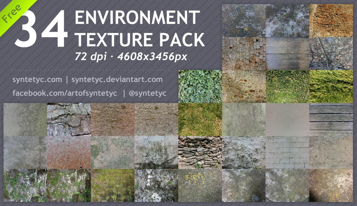 34 Environment Textures