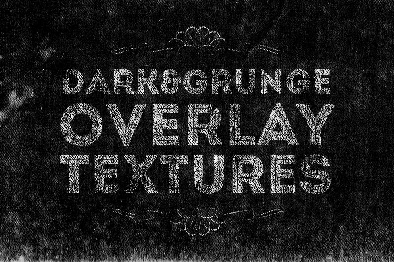 6 Free Dark Overlay Textures