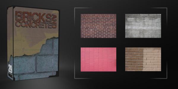 Bricks & Concrete Pack