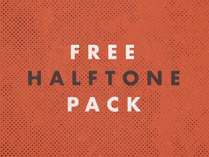 Free Halftone Pack by Dustin Lee