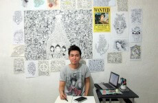 Highly Detailed Doodle Art by Kerby Rosanes-min