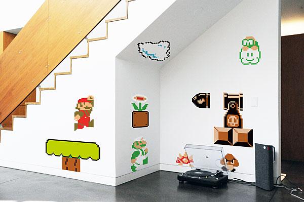 Nintendo Super Mario Bros. Wall Graphics
