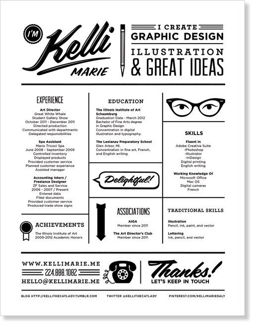 Resume by Kelli Marie